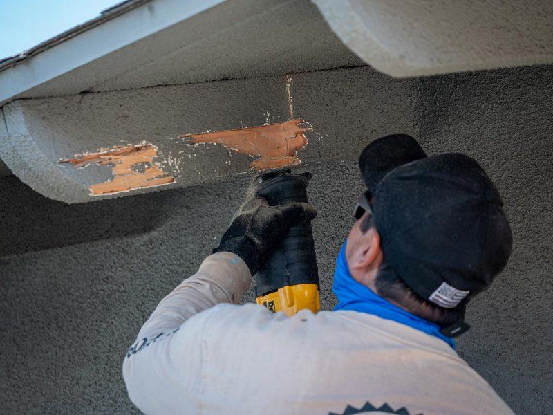 licensed wood and roof repairs